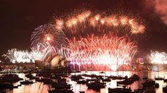 Lauter Start ins neue Jahr: Sydney erlebt gigantisches Feuerwerk