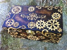 Victorian Clockwork Box by parizadhe on DeviantArt