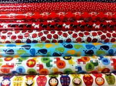 Laminated cotton prints perfect for aprons, bibs, table covers and so much more..