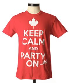 Division h Canadian party - Canada Day Tee @Bootlegger #canadaday