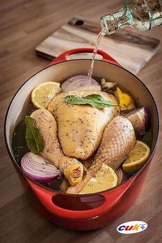Receta de Salmuera aromatizada para pollo CUK