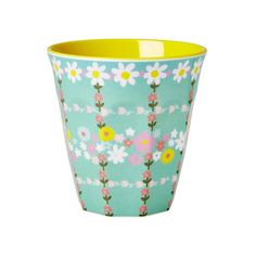 Melamine Print Cup- Retro Flower