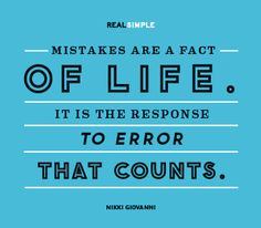 Fact of Life - Love this daily quote from Real Simple Daily Quotes, Great Quotes, Quotes To Live By, Me Quotes, Inspirational Quotes, The Words, Cool Words, Daily Thoughts, Real Simple