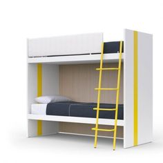 Battistella Lila Modern Bunk Beds available in a wide choice of colours, shop now for modern italian furniture Modern Bunk Beds, Italian Furniture, Colours, Kids Rooms, Home Decor, Decoration Home, Room Decor, Child Room, Kidsroom