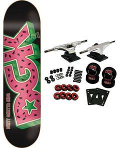 dgk skateboards complete watermelon