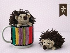 Crocheted by AmigurumisFanClub!!! Free pattern: http://lavaquitadelanita.blogspot.com.es/2014/03/pincho-el-amigurumi-erizo-patron.html