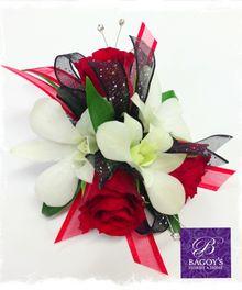 Mini Red Rose Corsage | Bagoy's Florist & Home | 8250 Homer Drive, Anchorage, AK 99518 | 907-522-1922 | http://www.bagoys.com #BagoysFloristandHome #prom #flowers #Florist