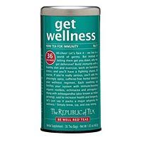 Sniffles and coughing are certainly in the air, boost your immunity to the germs with GET WELLNESS Tea! #SipbySip