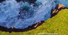 Drone captures Ireland's awe-inspiring cliffs and ancient castles.