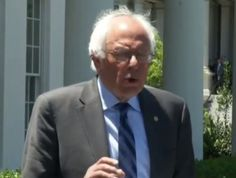 Bernie Sanders Offers Trump Zero Congratulations But Does Vow To Fight Him Democratic Primary, Liberal Politics, Political Views, Bernie Sanders, Vows, Obama, Sentences, Native American, Congratulations