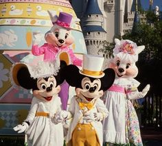 Celebrating Easter at Walt Disney World