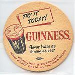 Guinness Beer Coaster