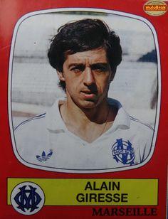 Alain GIRESSE ... PANINI 87