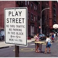 Play streets, like this one in Harlem, temporarily close streets to provide kids and adults a place to play and socialize in their neighborhood.
