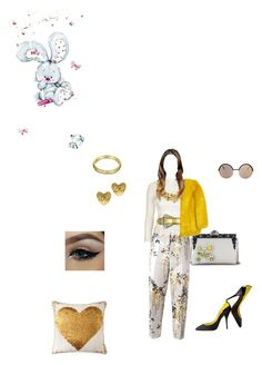 """""""Motion"""" by miktemal ❤ liked on Polyvore featuring Rochas, Topshop, Marc by Marc Jacobs, Chanel, Jonathan Adler, Christian Louboutin and Dolce&Gabbana"""