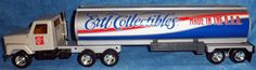ERTL COLLECTIBLES by Ertl Pressed Steel & Die Cast Tanker Truck  USA    D3 #Ertl #unknown