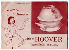 instruction manual for hoover carpet cleaner
