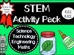 STEM Science Technology Engineering and Maths Activity Pack (KS1/KS2)