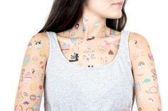 Pom Pom - Tatuajes temporales
