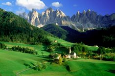 Val Di Funes Dolomites, Italy  ----  this has been on my dream list for quite some time...
