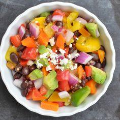 Potluck pepper salad!