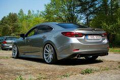 Недавнее фото из Европы! В ожидании заднего диффузора!  From: Robby @robbyserneels Limburg Belgium  MAZDA 6  Body Kit by @mv_tuning  Website: http://mv-tuning.ru  #MVTUNING #Mazda6 #アテンザ #atenza #tuningmazda #мазда #мазда6 #Mazda #drive2 #тюнингмазда #mazdaclub #mazdacollective #fitment #atenza #mazda62015 #mymazda #mazdafitment #mazdamovement #mazdaonstyle #mazdaworld #mazdausa #mazda6club #vossen #vossenwheels by mv_tuning