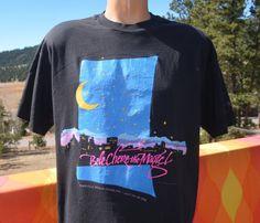 vintage 90s t-shirt BELE CHERE asheville music by skippyhaha