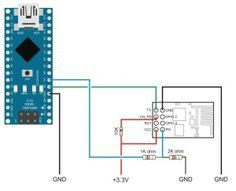 Arduino to ESP8266