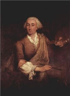 Portrait of Francesco Guardi by Pietro Longhi