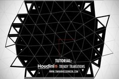"Learn how to create ""trendy"" Motion Graphics style transitions in Side FX Houdini, with a setup that can split and animate polygons easily."