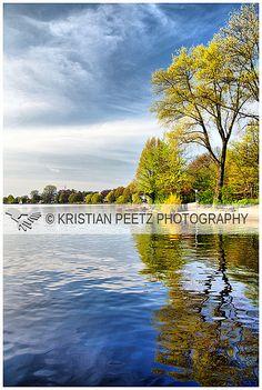 Alster Lake in Hamburg, Germany by Latin-Point, via Flickr
