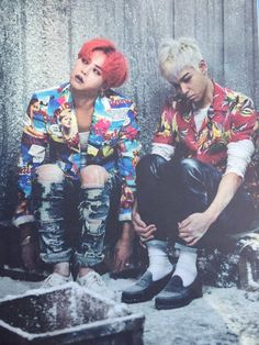 ♡♡ GDRAGON & TOP #MADE SERIES PHOTOBOOK #BIGBANG #ZUTTER