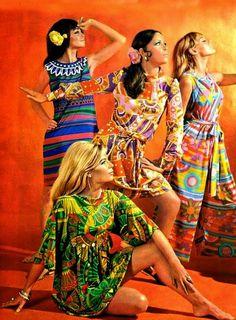 Moda Psichedelica  1960-70