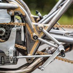 Giant Killer: The Harris-framed Suzuki sprint bike that beat the factory entries…