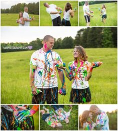 Fun ideas for an engagement session or couple pictures! @yah Photography