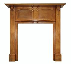- Solid oak antique art nouveau surround, hand carved tulips with deep rich oak patina. Fireplace Mantel Surrounds, Wood Fireplace Mantel, Art Nouveau, Art Deco, Leicester, How To Antique Wood, Antique Art, Marble Hearth, Shire