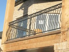 Wrought Iron Railings, Wrought Iron Handrails, Steel Rails, Iron Balcony Railing, Metal Fence Railing, Railing Contractor, Deck Railings Out...