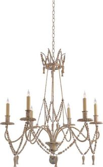 Dining    Bead And Tassel Chandelier - CHC1419