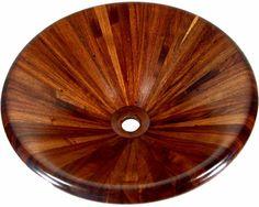 Tzalam Wood Vessel Sink $2,000.00