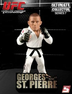 Round 5 UFC Ultimate Collector Series 7 Action Figure Georges St. Pierre Sculpted White Gi by Round 5 Ultimate Fighting Championship Toys. $7.99. Pierre action figure stands approximately 6-inches tall and is made of plastic.. It's time to pick up these UFC Ultimate Collector Action Figures!. Submit to this super-detailed UFC figure!. The biggest and baddest stars of the UFC, past and present.. It's time to pick up these UFC Ultimate Collector Action Figures! Th...