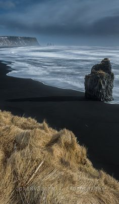 Reynisfjara Beach, Southern Iceland - had a picnic in a little cave on this beach!4