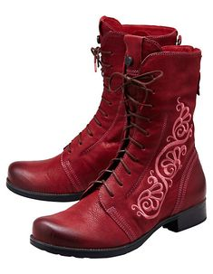 Think Stiefeletten Rentje bordeaux