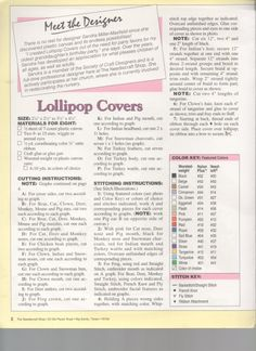 LOLLIPOP COVERS 1