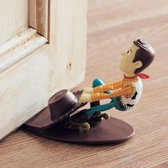 Woody ❤ The doorstop Disney Japan Toy Story