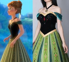 How amazing is this Anna costume!
