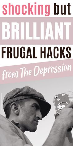 In this post I'll show you 14 frugal tips from the Great Depression you must try, that are beyond brilliant, so you can master ways to save money. Curious what it would be like to do extreme frugal living to cut expenses and save money fast? Then head over to the blog to read this post. Don't forget to save it to your board for how to save money so you can easily refer to it later. Saving money frugal living | Low income living | Thrifty living | Thrifty frugal mom | Frugal living tips Frugal Living Tips, Frugal Tips, Ways To Save Money, Money Saving Tips, Great Depression, Personal Finance, You Can Do, Money Fast, Don't Forget