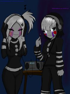 My favorite Fnaf character is (hands down) the marionette. Fnia marionette owned by Mary owned by me FNAF ownership t. Yandere Anime, Thicc Anime, Chica Anime Manga, Five Nights At Anime, Five Nights At Freddy's, League Of Legends, Fnaf Golden Freddy, Animatronic Fnaf, Raven Teen Titans Go
