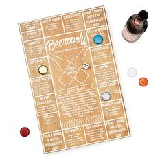 Look what I found at UncommonGoods: Beeropoly for $30 #uncommongoods