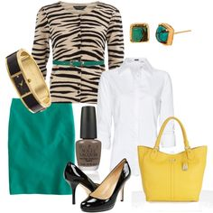 What's Green, Yellow, and Zebra all over? Style!