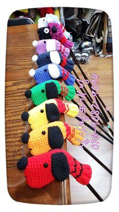 Free Pattern Knit Golf Club Covers Golf Club Covers